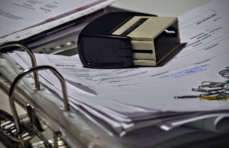 Cachet d'entreprise pour les documents administratifs